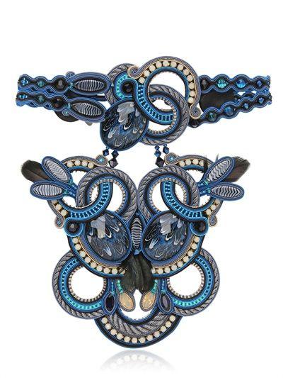 dori csengeri icarus necklace luisaviaroma luxury