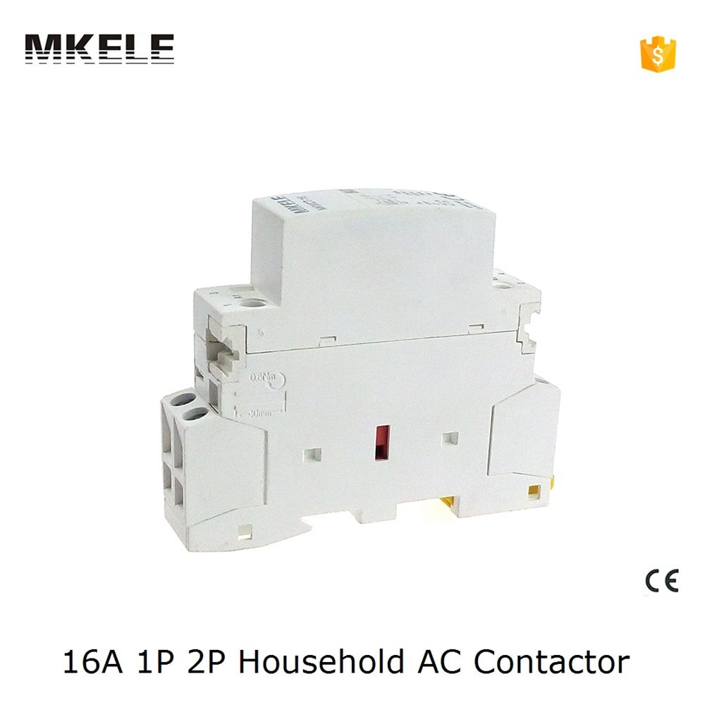 Din Rail Household Ac Contactor Mkwct 16 16a 2p 220v 230v Household Contact Module Din Rail Modular Contactor Contractors License Household Electricity