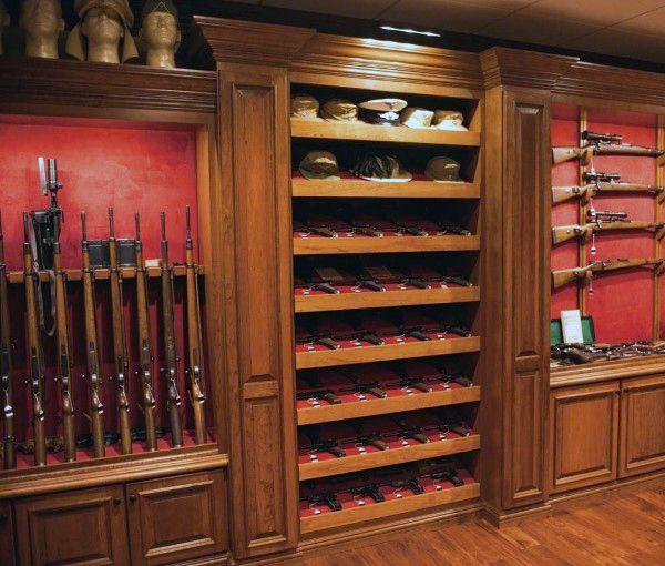 Basement gun room inspiration dans gunrooms ideas for Gun vault rooms