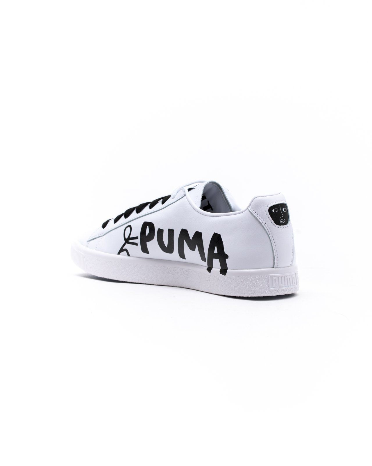 new product f4d5a b0add Puma x Shantell Martin Clyde Sm - Color: Puma White/Puma ...
