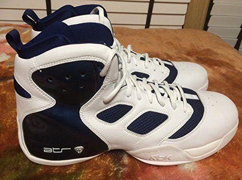 e8934748f8e9 Reebok Men s ATR Boom Dizzle Basketball Shoes White Navy size 15 1 2 Reebok
