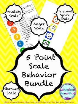5 Point Scale Bundle #emotionalcontrol