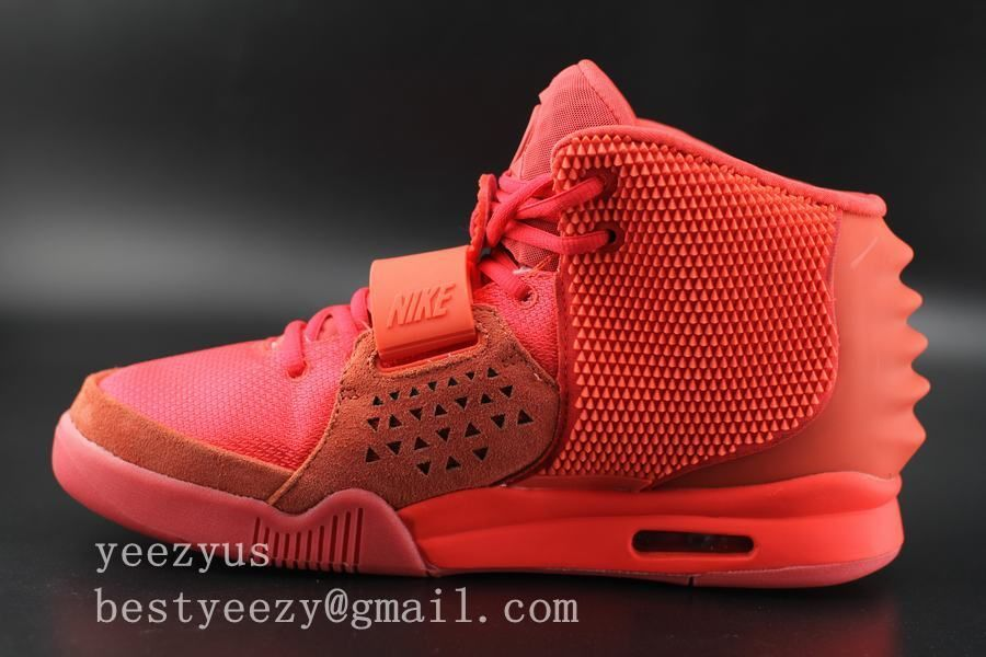 Flawless Air Yeezy 2 Red October Glow