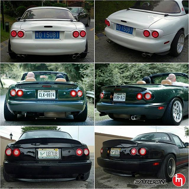 Carbonmiata Quad Led Tail Lights For The Na Nb Order At Www Topmiata Worldwide Shipping Earn Up To 675 Points On Future