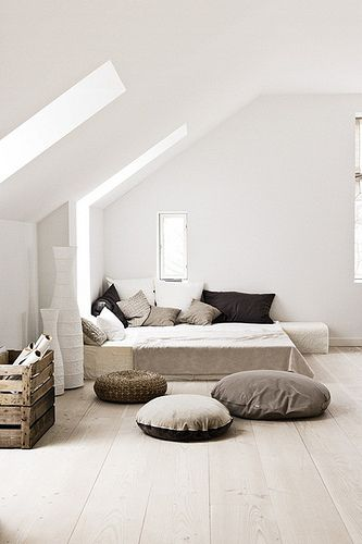 a renovated vicarage in sweden (which is for sale) Bedroom