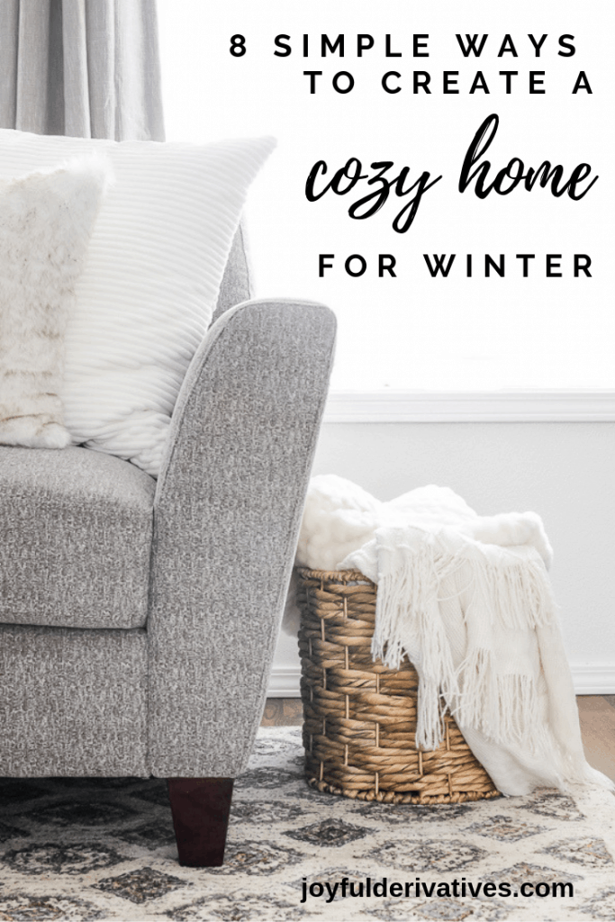 Simple & Cozy Living Room Ideas on a Budget for Winter