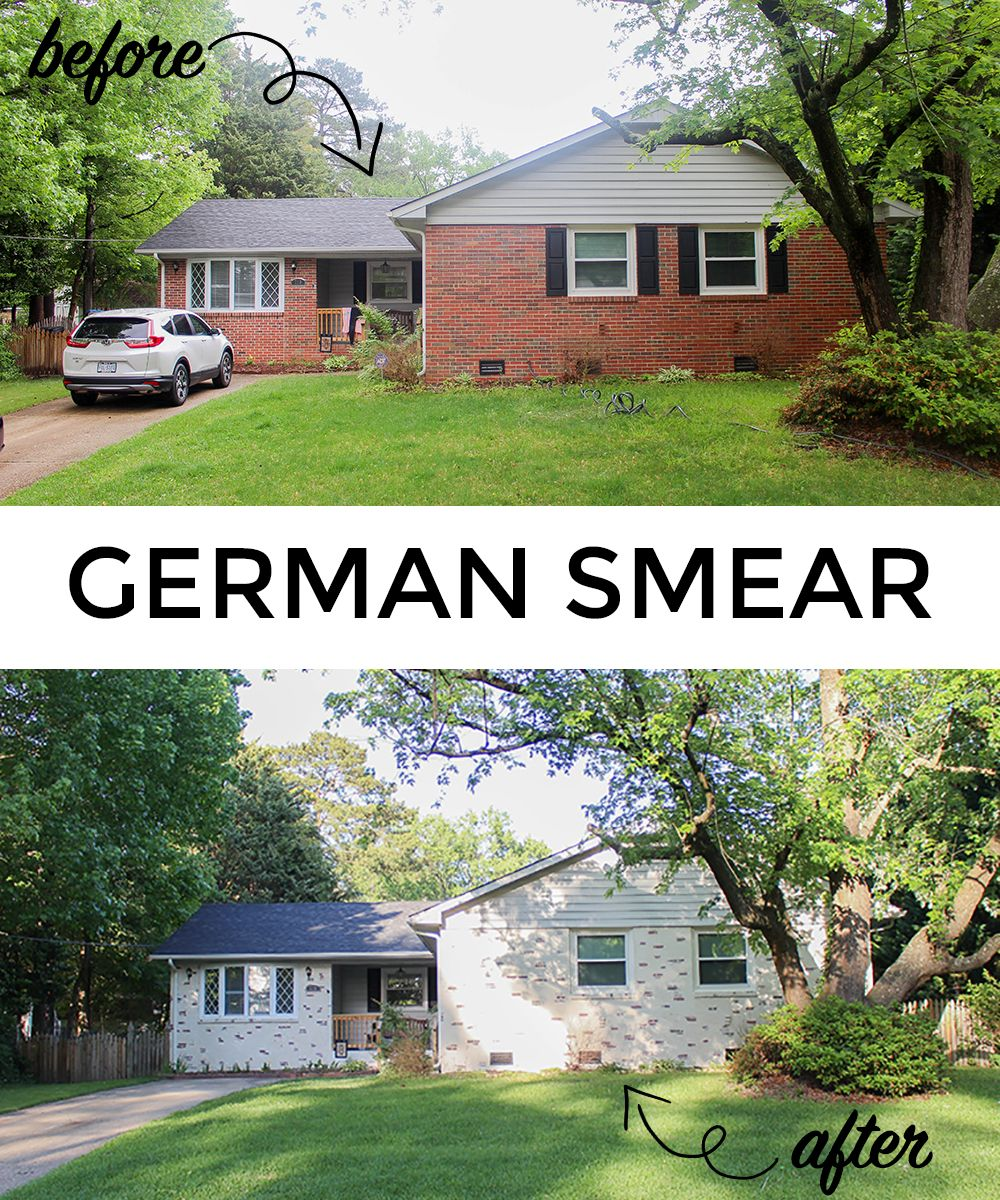 Everyone Talks About The German Smear So I Actually Did It To Our Home Click Here See How Was Different Than Expected