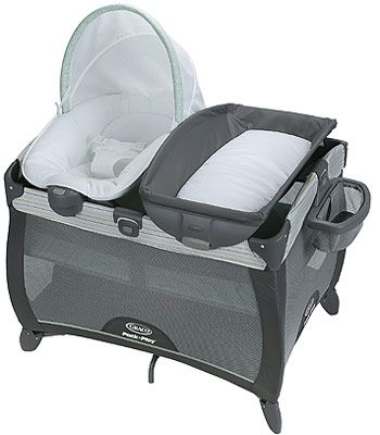 Graco Pack N Play Playard With Quick Connect Portable Napper Changing Table