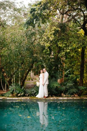 Tropical Miami Wedding The Kampong Roxanne Bellamy Events