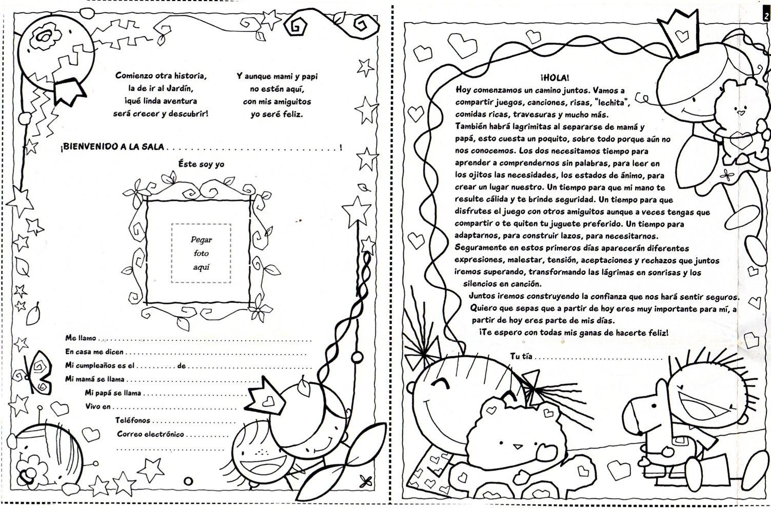 Libreta Para Niños Con 25 Dibujos Para Colorear: Pin De Yaneth Var En Dibujos
