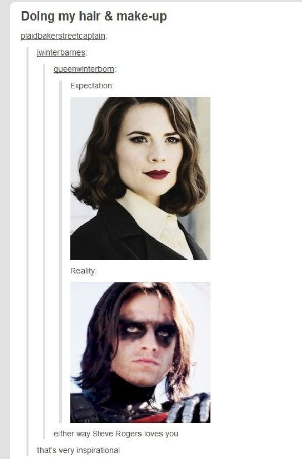 I'll love you Bucky.