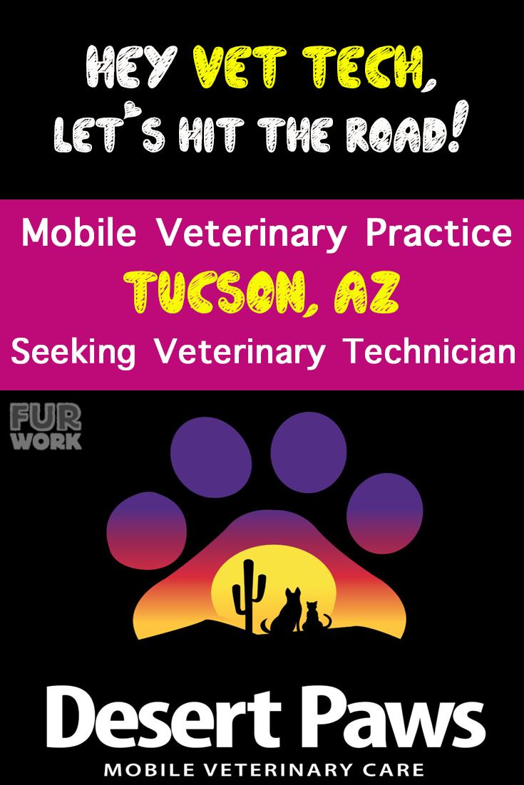 Veterinary Technician, Desert Paws Mobile Vet Care, Tucson