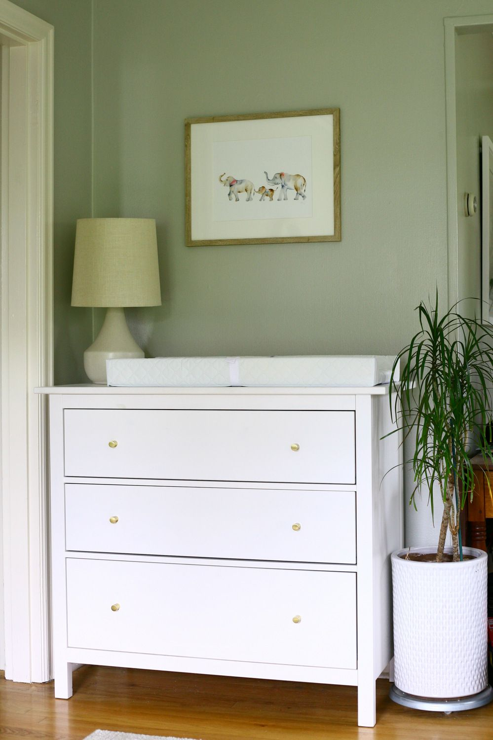 Real Simple Ikea Hack Hemnes Dresser To Changing Table Update For The Nursery Ikea Hemnes Changing Table Ikea Changing Table Hack Changing Table Dresser