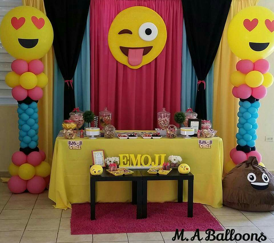 EMOJI Fairy Birthday Party 10th