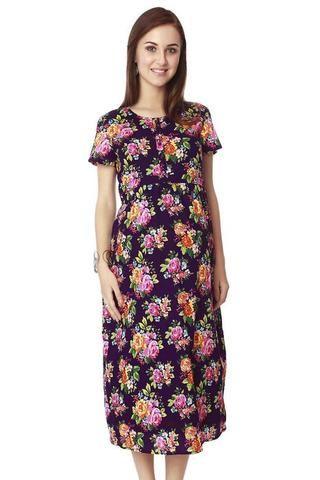 3be2c27b19 Nine Maternity Dress In Multicolor