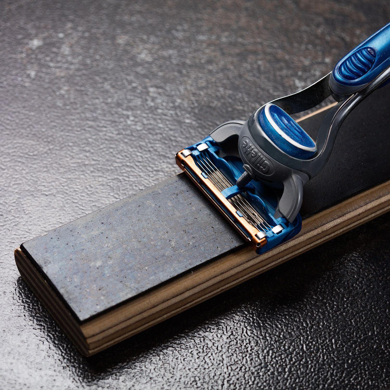 Hone alone razor sharpening block puts stop throwing