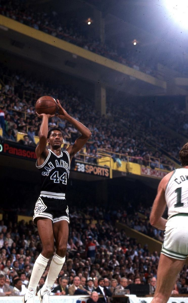 George Gervin The Hustle Pinterest