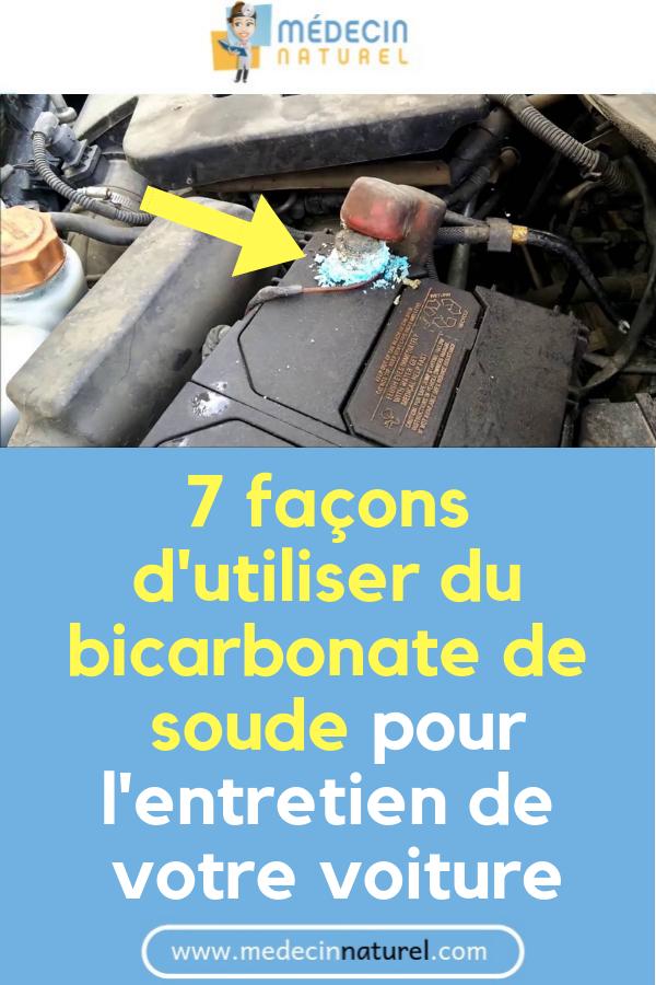 7 façons dutiliser du bicarbonate de soude pour lentretien de votre voiture