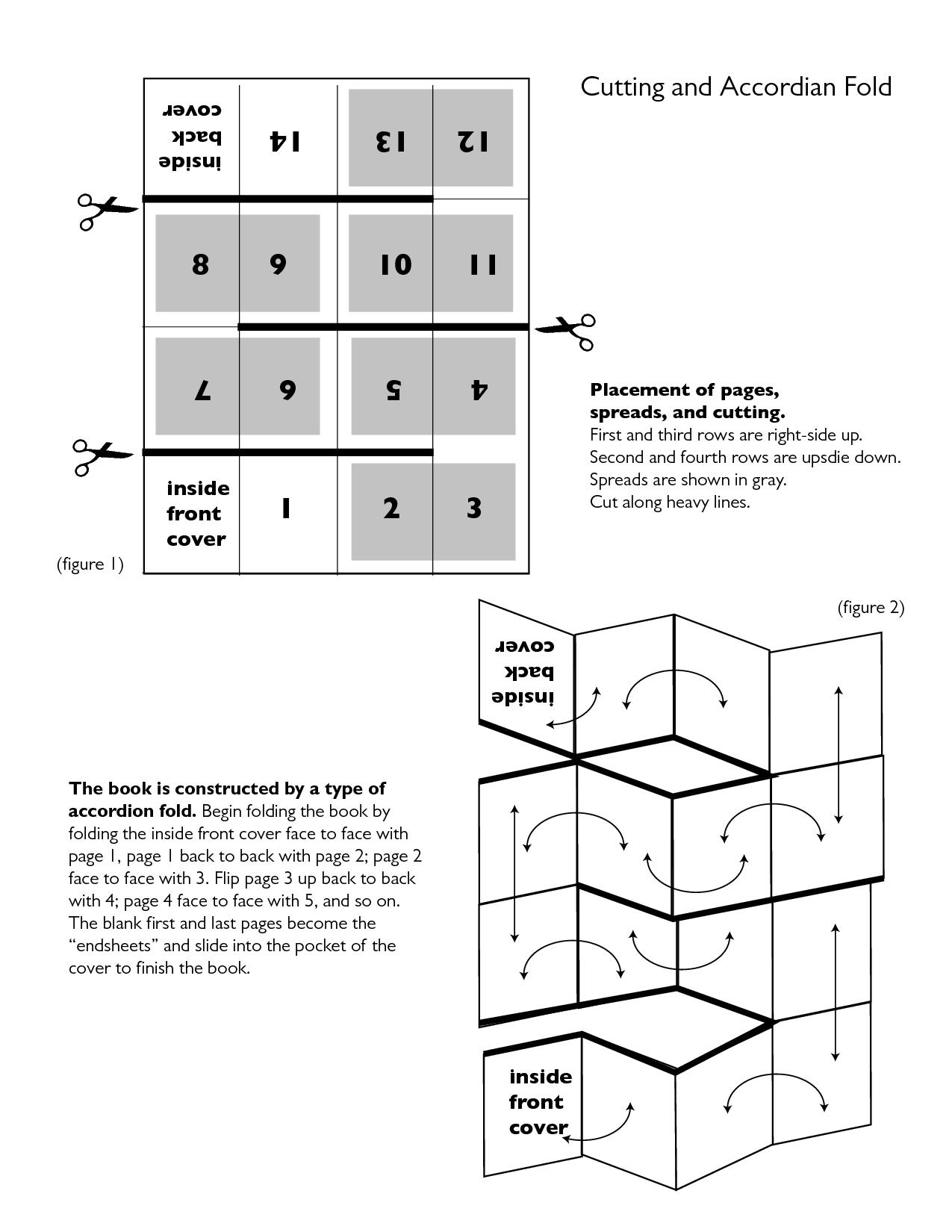 resultado de imagen de origata fold in fold out book pop up book book crafts book folding. Black Bedroom Furniture Sets. Home Design Ideas