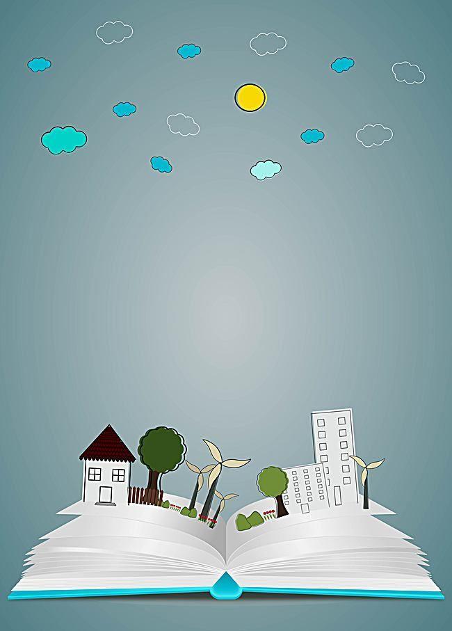 كتاب التعليم ناقلات ثلاثي الأبعاد Poster Background Design Powerpoint Background Design Graphic Design Background Templates