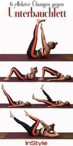 Flacher Bauch: Diese sechs Fitnessübungen bringen richtig viel #stomachexercises Flacher Bauch: Dies...