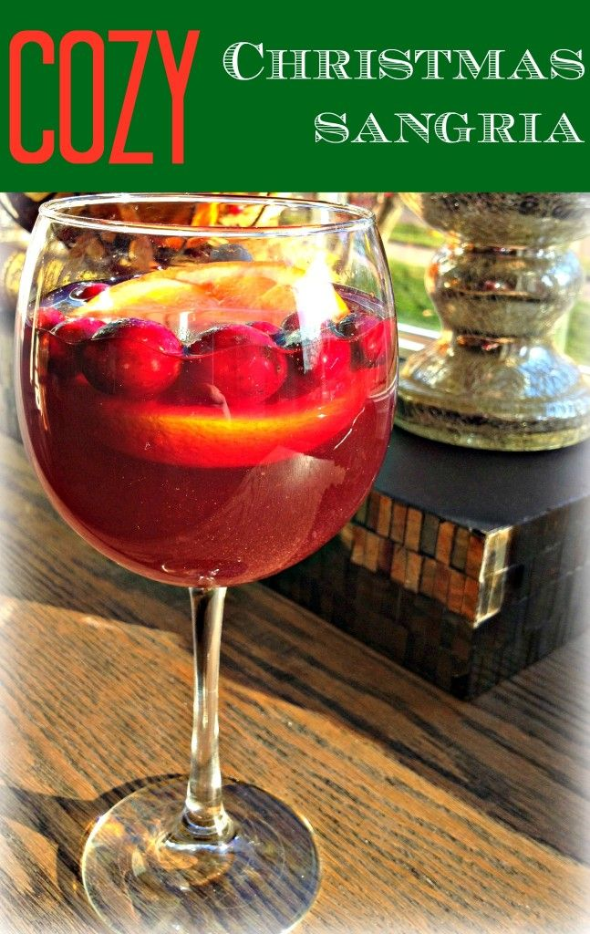 Cozy Christmas Sangria | Pinterest | Alkoholfrei, Schnaps und Bowle