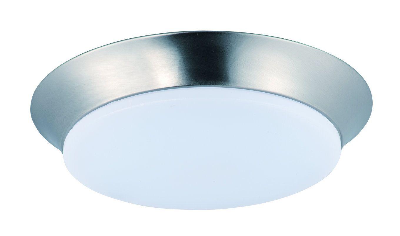 Maxim 87597 1 light 1375 wide led flush mount ceiling fixture from maxim 87597 1 light 1375 wide led flush mount ceiling fixture from the profile satin arubaitofo Choice Image