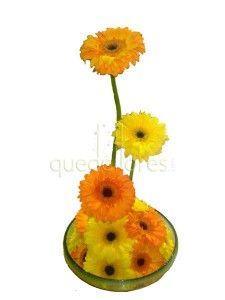 Cestas de flores muy veraniegas para regalar o decorar cualquier rincón de tu hogar