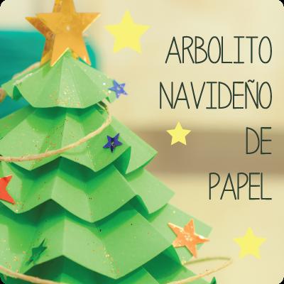 Tutorial: Arbolito de Navidad de papel | El invernadero creativo ...