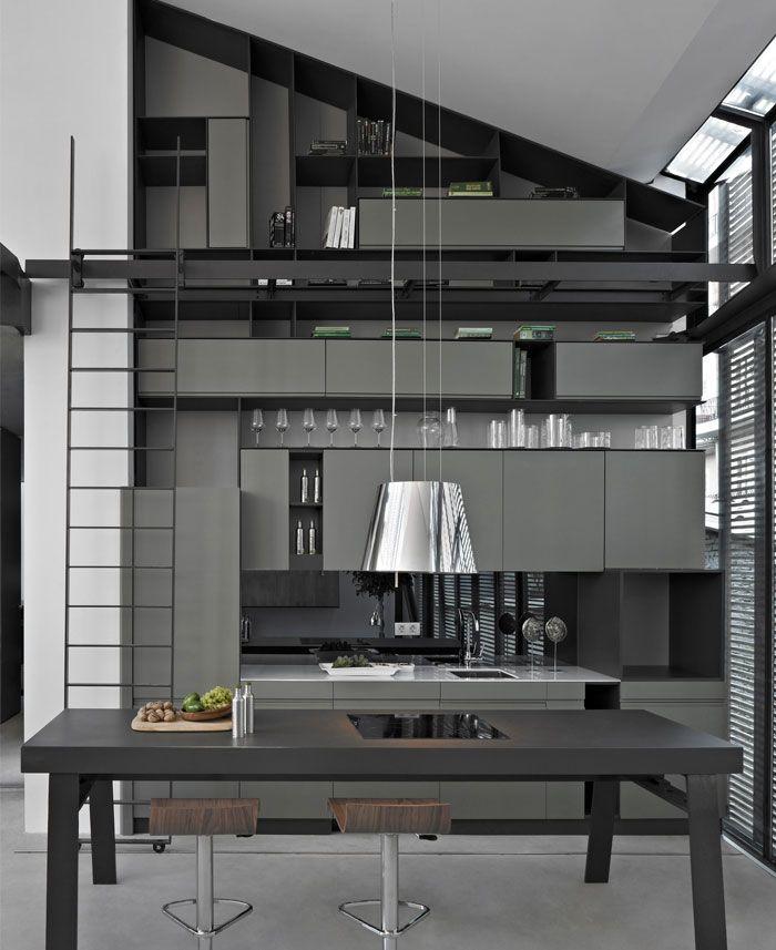 Grey Bedroom Decor Ideas Bedroom Design Ideas For Apartments Bedroom Decor Examples Gypsum Board Bedroom Ceiling Design: Â�ッチン収納術, Â�ンテリア, Ŏ�房