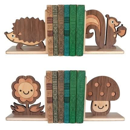 The Ultimate Cute Bookends Cool Mom Picks Woods Animal Nursery Woodland Forest Friends Bookends