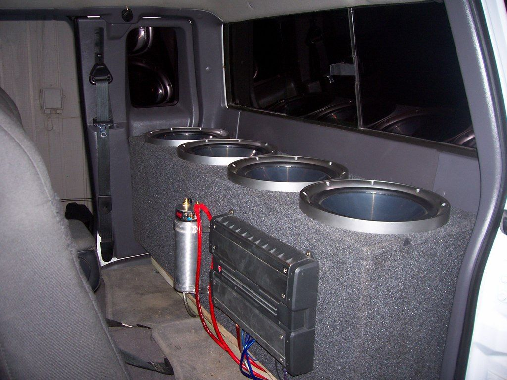 Ford Ranger Sub Box Car Audio Subwoofers Subwoofer Box Design