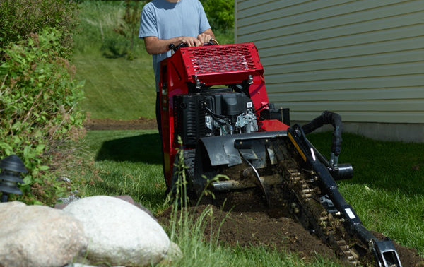 How to Install a French Drain | French drain, Yard ...
