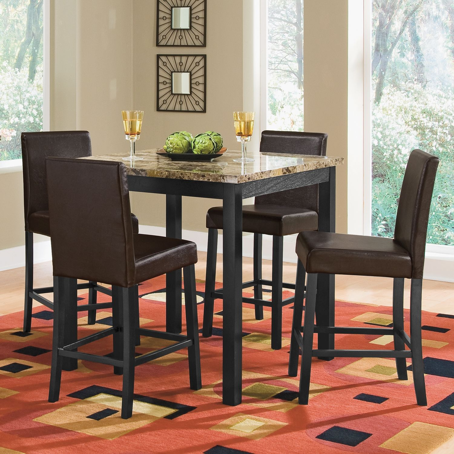 Keystone II Dining Room Counter Height Table   Value City ...