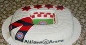 Und hier mal ne Fussballtorte in Form der Allianz Arena  Öfter mal was neues D  Hab noch  Und hier mal ne Fussballtorte in Form der Allianz Arena  Öfter mal was...