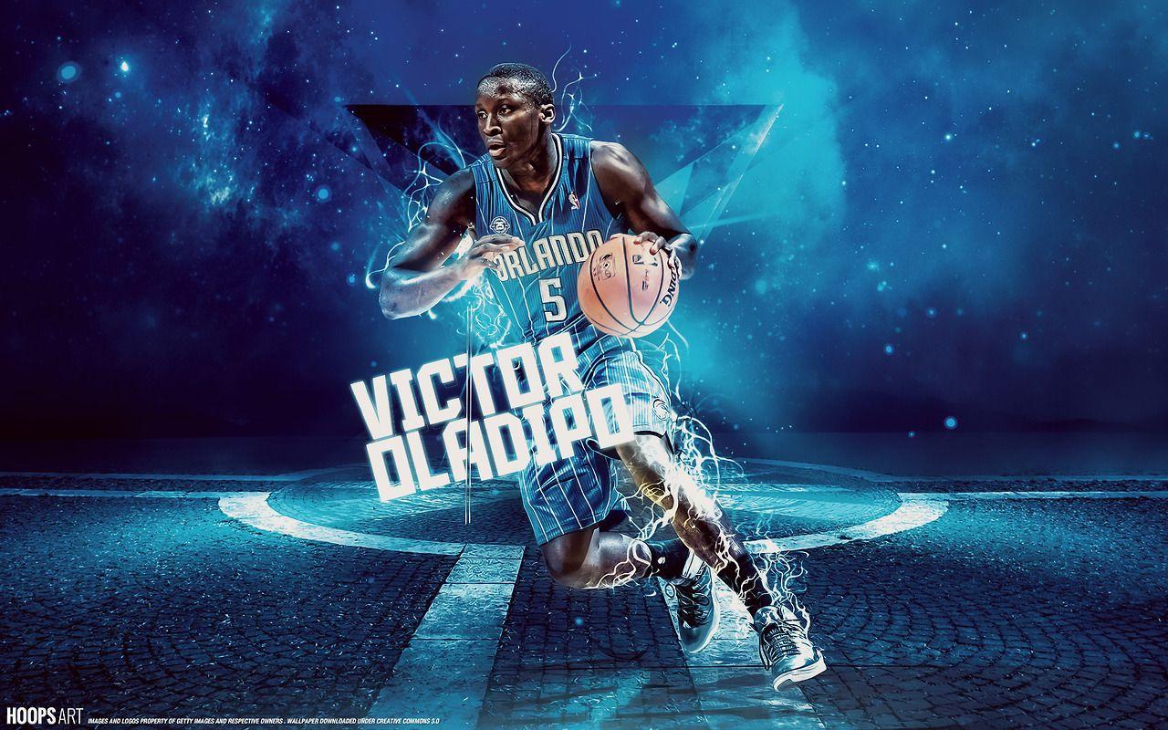 Orlando Magic Victor Oladipo Nba Wallpaper From Hoopsart Com Orlando Magic Sports Campaign Sport Illustration