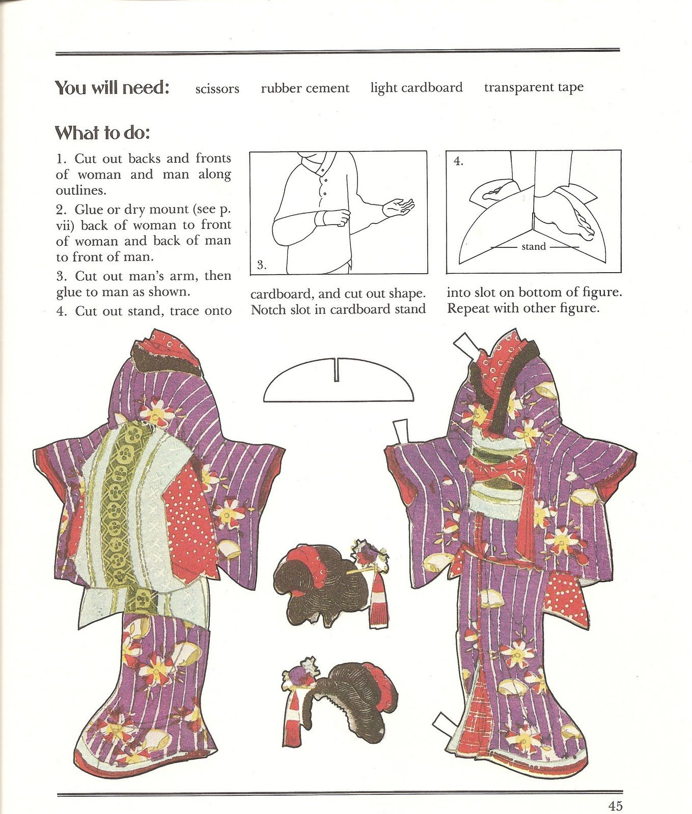 JAPANESE * 1500 free paper dolls at Arielle Gabriel's The International Paper Doll Society for paper doll pals at Pinterest, thanks to all of you..! *