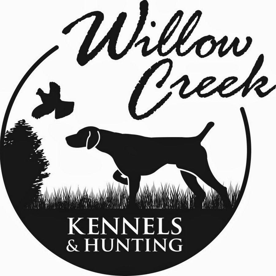 Willow Creek Kennels Dog Logo Dog Logo Design Hunting Dogs Training [ 900 x 900 Pixel ]