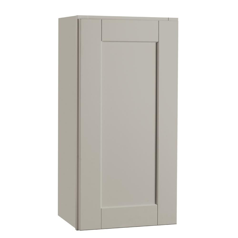 Best Hampton Bay Shaker Assembled 15X30X12 In Wall Kitchen 400 x 300