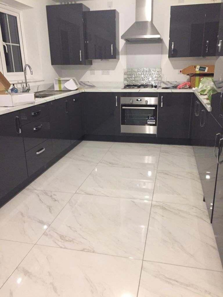 How To Save Money On New Kitchen Cabinets Marble Tile Floor Kitchen Marble Tile Kitchen Marble Floor Kitchen