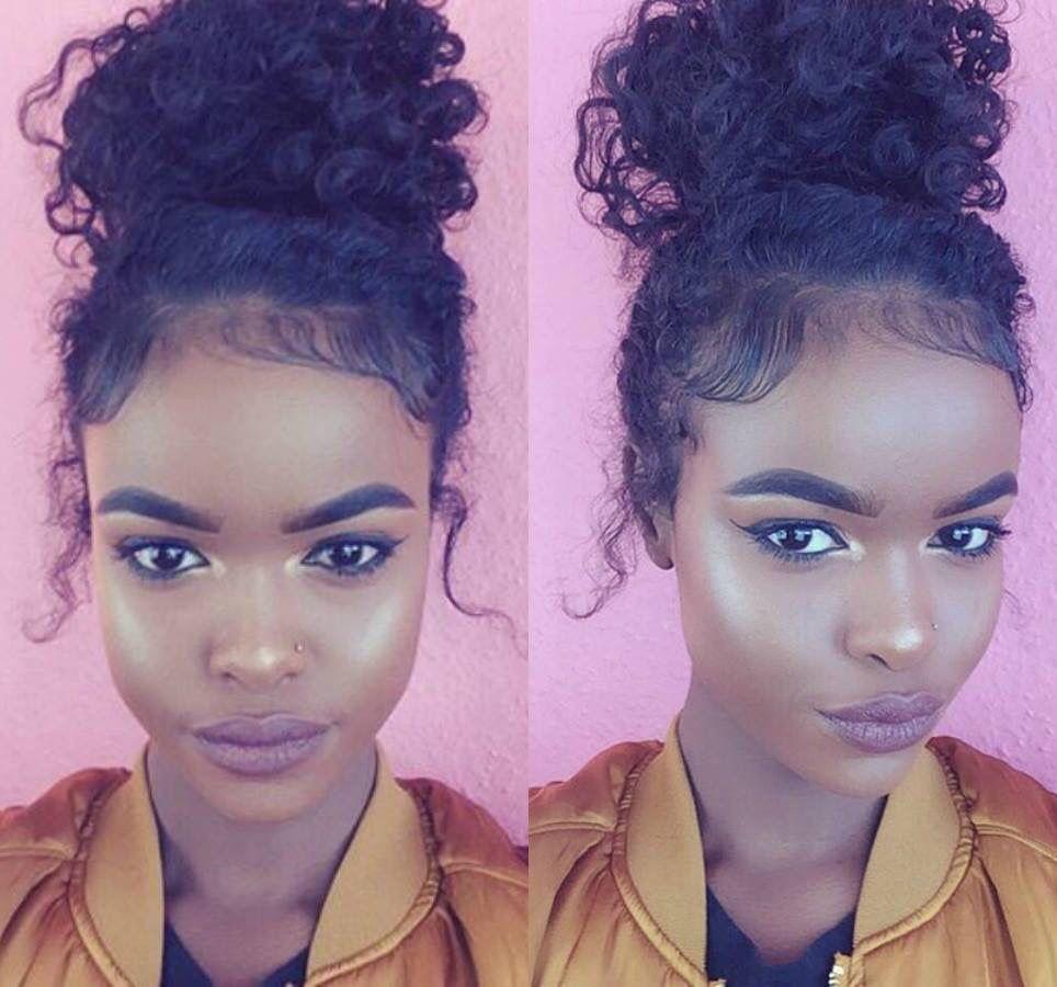 Pinterest chicpeaach natural hairstyles pinterest makeup