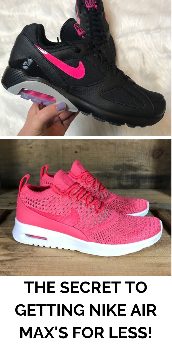 Find Nike Air Max sneakers up to 70