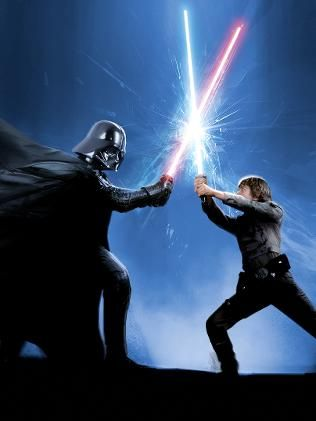 Image result for darth vader fights luke