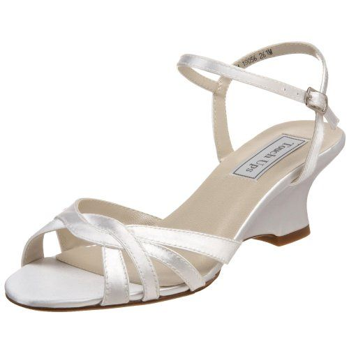 Touch Ups Women's Margie Ankle Wrap Sandal,White,8.5 M US... https://smile.amazon.com/dp/B002WPZS62/ref=cm_sw_r_pi_dp_x_LTmRybSTWNPZ7