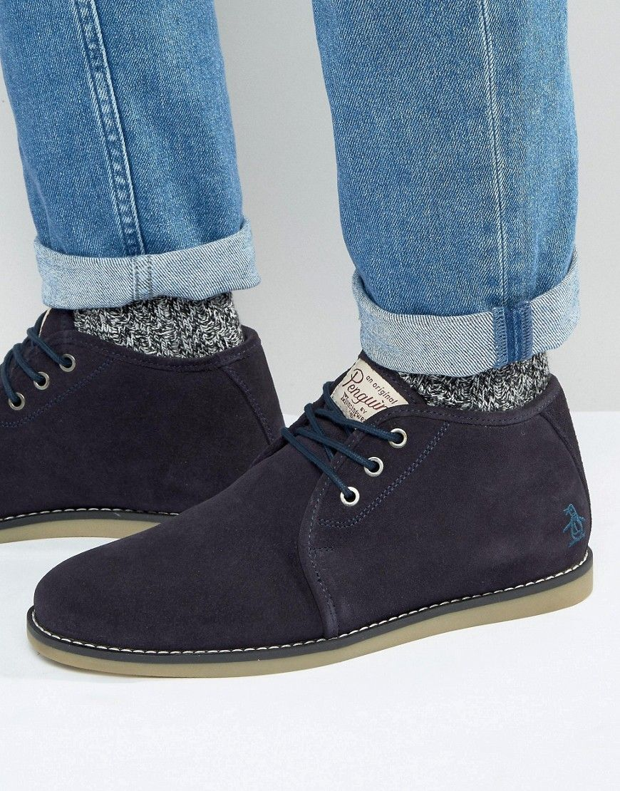 Original Penguin Suede Desert Boots