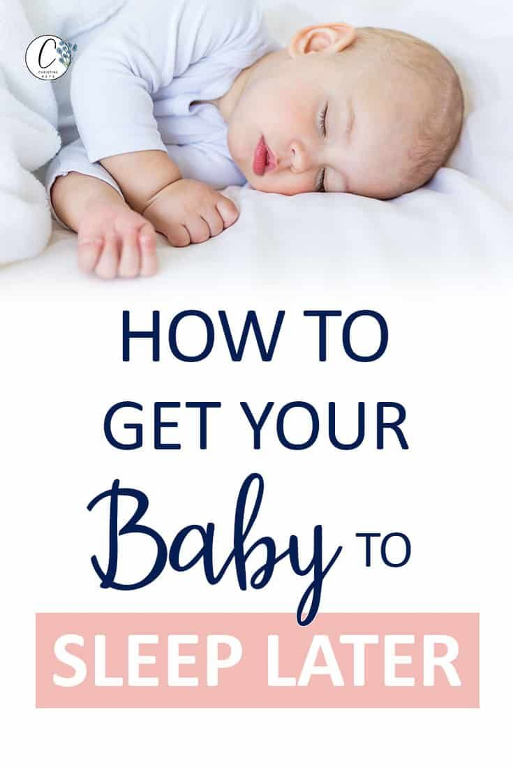 how to get baby to sleep longer during the day