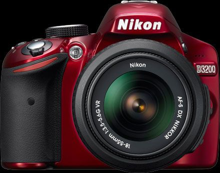 Nikon D3200 is here! Rosso!