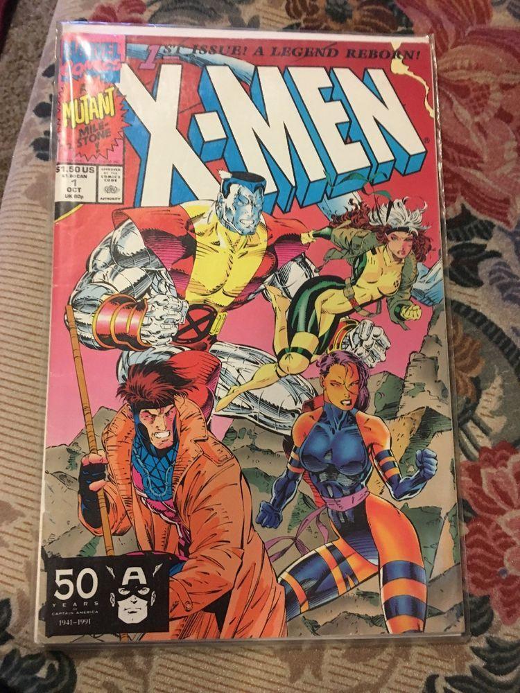 X Men 1st Issue A Legend Reborn October 1st Marvel Comics Mint Condition Marvel Marvel Comics Comics