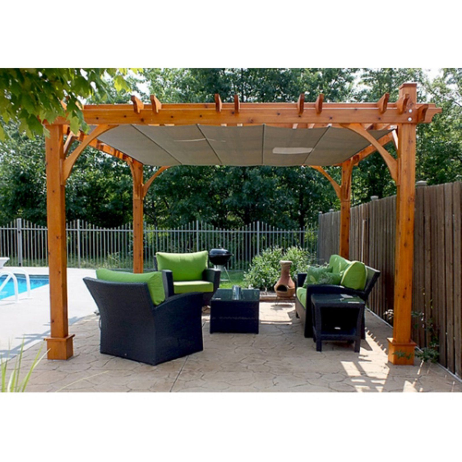 Outdoor living today breeze 12 ft pergola with