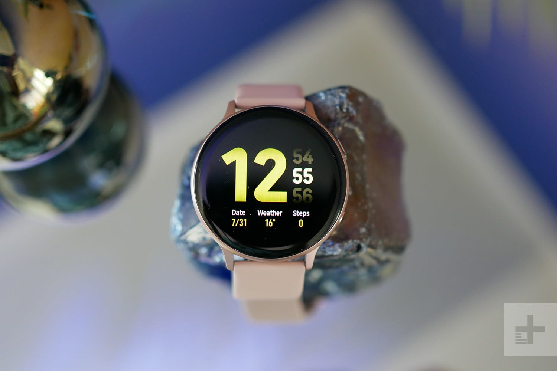 Samsung Galaxy Watch Active 2 Lte Có Tính Năng Theo Dõi Căng Thẳng Samsung Smartwatch Watches